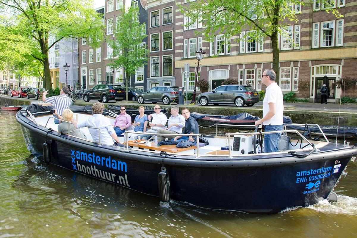 Ongekend Sloep Max - Luxe, comfortabele sloep voor 40 pers. - Amsterdam GS-05