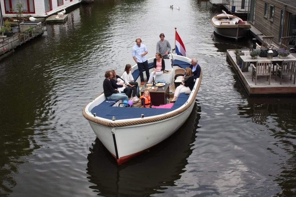 Sloep huren Amsterdam - Sloep Willy