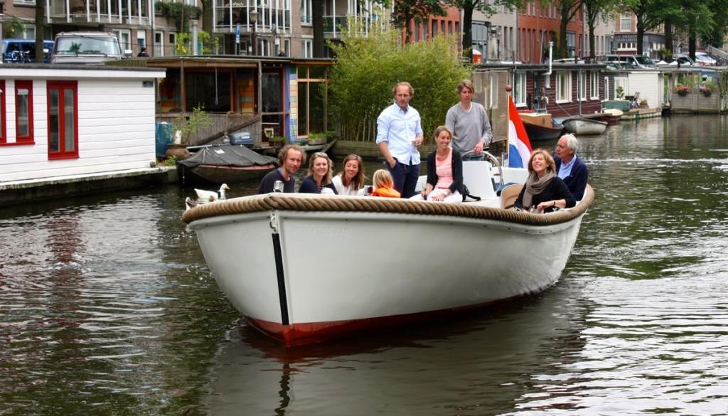 Sloep huren Amsterdam - Sloep Willy 7