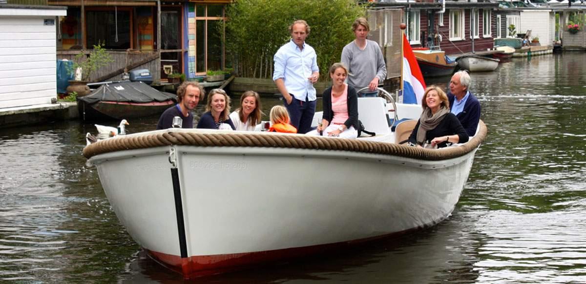 Zakelijk varen Amsterdam