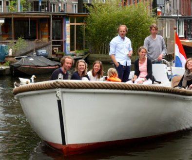 Lunchvaart Arrangement Amsterdam Boothuur