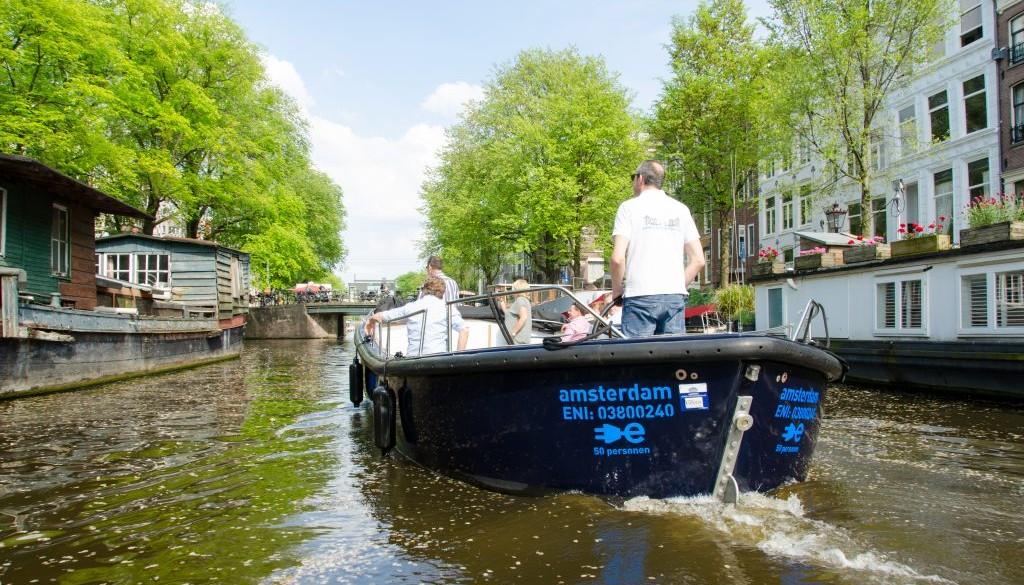 Sloep Max - Amsterdam Boothuur
