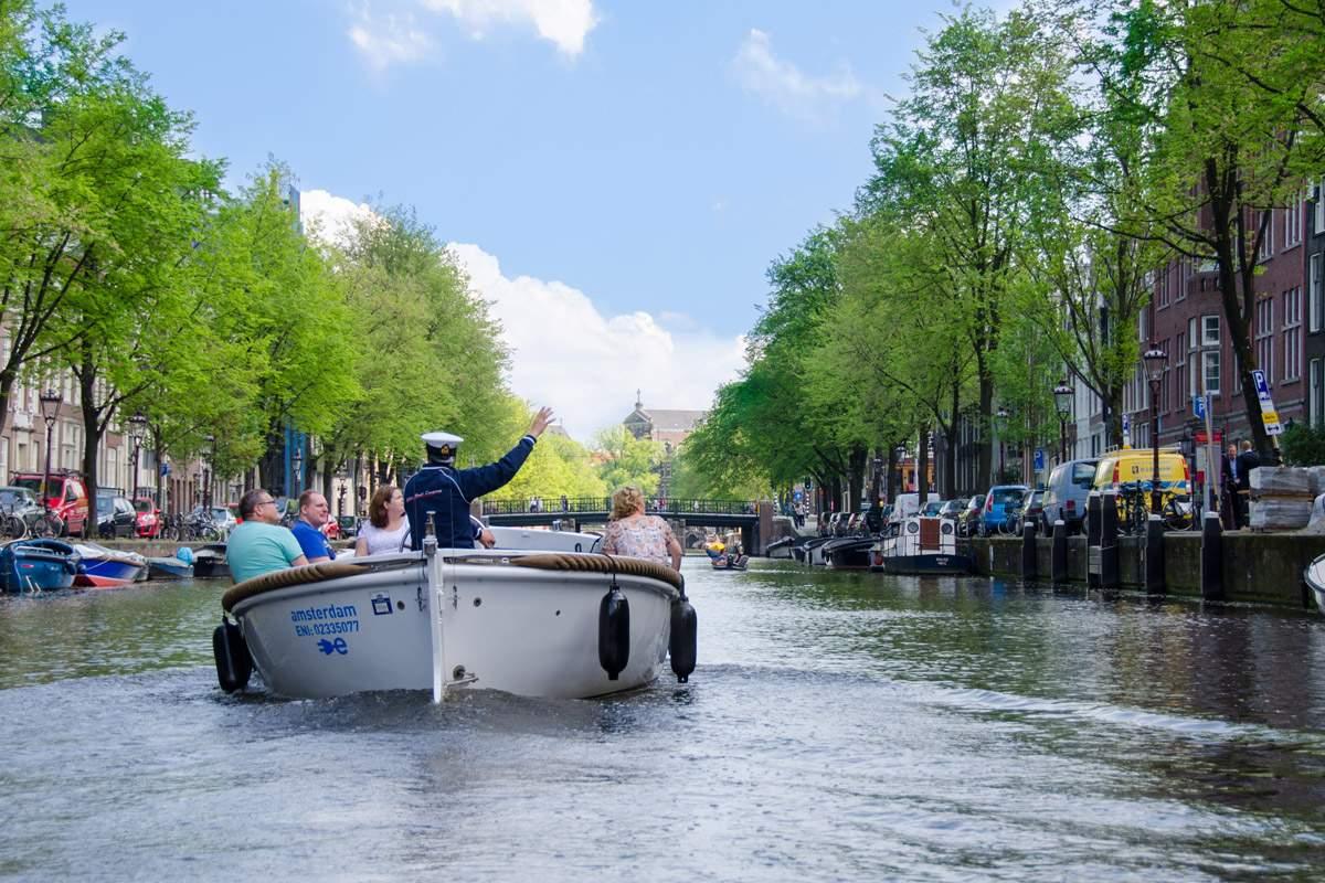 Open rondvaartboot Amsterdam - Amsterdam Boothuur