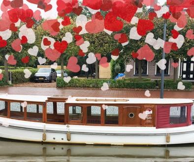 Valentijnsrondvaart Salonboot Amsterdam Boothuur