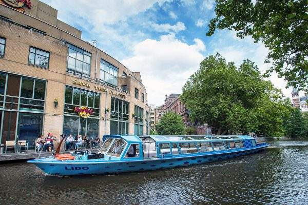 Rondvaartboot Amsterdam Boothuur - LIDO - Buiten overdag