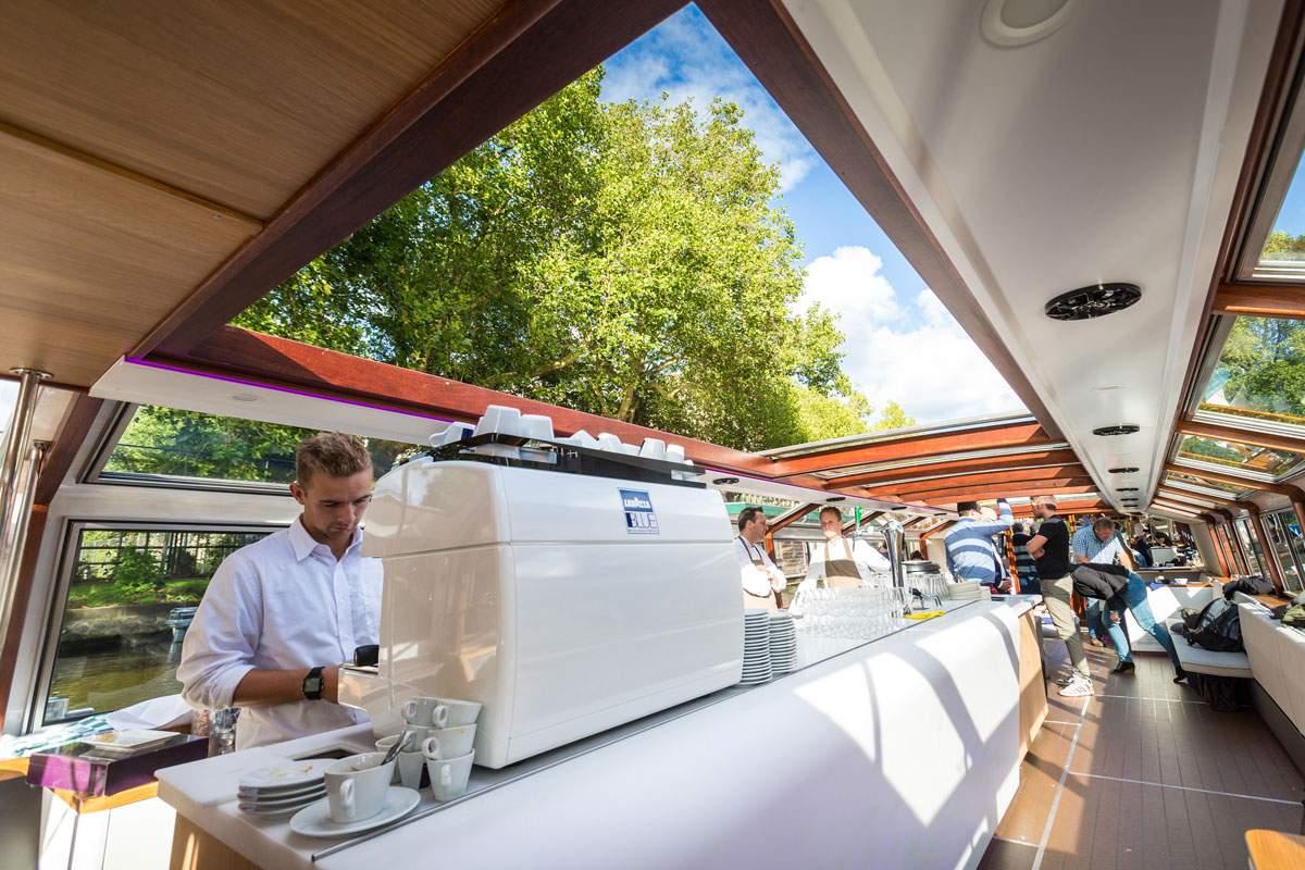 Rondvaartboot Amsterdam Boothuur - LIDO - Koffie