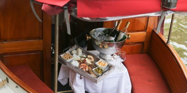 Dineren aan boord