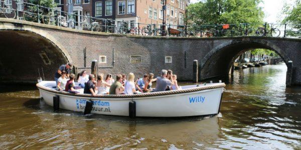 Boot huren Amsterdam