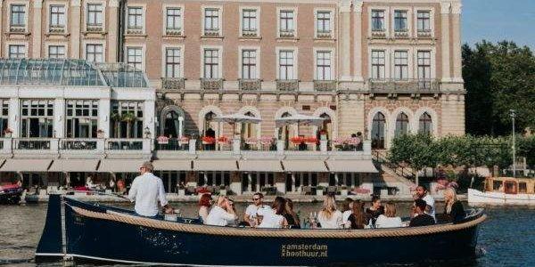 Zakelijk varen in Amsterdam